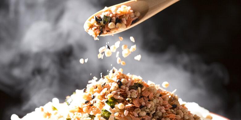 ふりかけご飯のイメージ画像