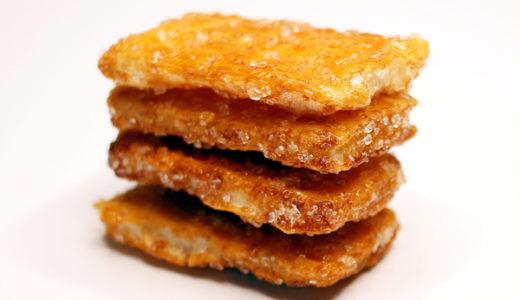 ざらめ糖のおかき・あられ・せんべいはカロリーや糖質は高いの?