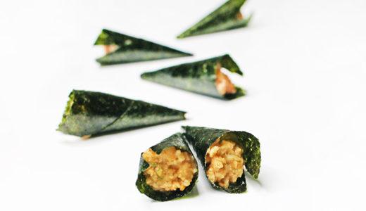 手巻き納豆(あられのお菓子)|商品情報・カロリー・糖質について