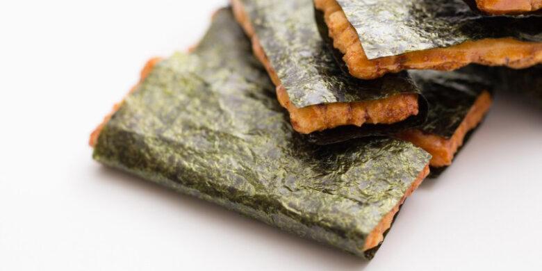 海苔巻おかき(撮影写真)