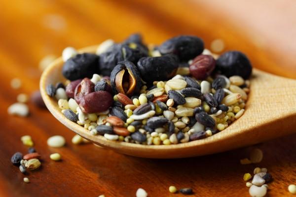 ビタミンB1を含む穀類の画像
