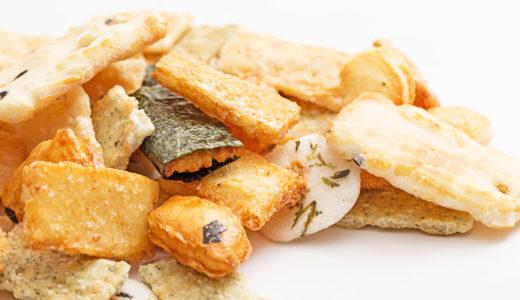 おかき・あられ・せんべいのカロリーが気になる方へ|おやつの目安量とは?|Calories