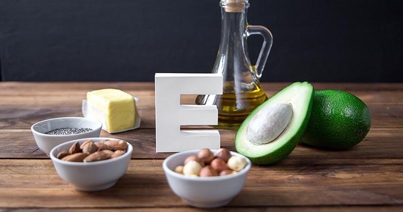ビタミンEを含む食品(イメージ画像)
