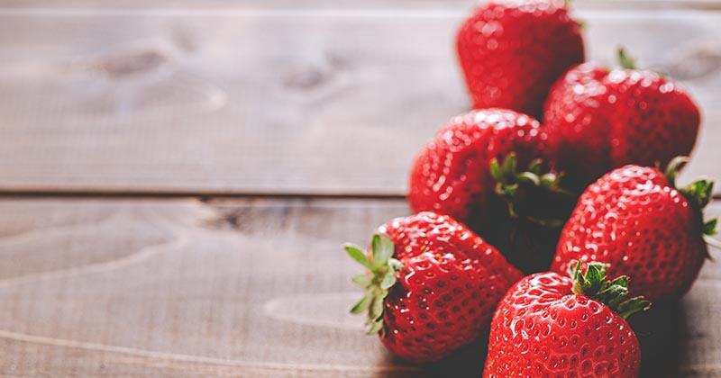 ビタミンを含む苺(イメージ画像)
